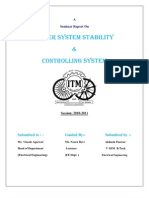 Power System Stablity Nad Control