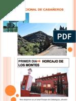 PARQUE NACIONAL DE CABAÑEROS powerpoint