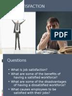 Ppt on Job Satisfaction