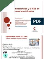 La RSE en Fundación Carolina. Presentación para el programa Jóvenes Lideres Iberoamericanos