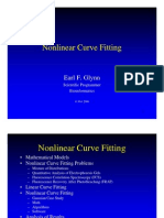 Nonlinear Curve Fitting