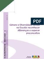 Genero e diversidade na educaçao 2007