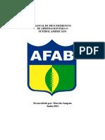 Manual de Procedimentos de Arbitragem