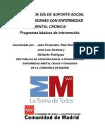 2008 Consejeria Familia y AASS. Centros de Día de soporte social