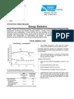 2010 Energy Statistics