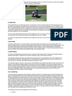 The Rules of Football Can Be Complex and Vary Depending on the Level of Play