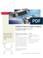 Multiband Hybrid Coupler