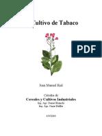 El Cultivo de Tabaco