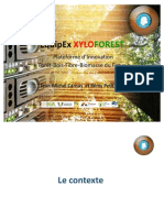 Lancement Equipex Xyloforest