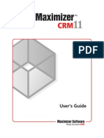 MaxCRM11 UserGuide