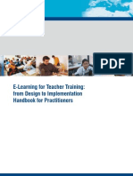 E-Learning for Teacher Training