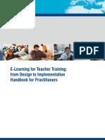 E-Learning for Teacher Training