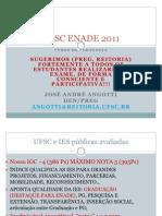 Pedagogia Angotti UFSC ENADE 2011