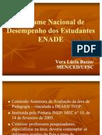 Pedagogia ENADE UFSC 2011 CED/MEN