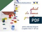 Ghid de Bune Practici Pentru Educatia Timpurie 3 - 7 Ani