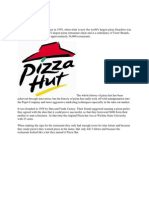 History of Pizza Hut