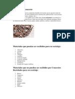 Reciclado de concreto