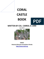 Coral Castle Book - Carrol a. Lake
