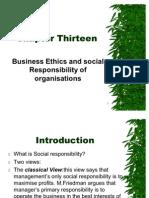 Chap 13. Ethics & CSR