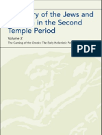 A History of the Jews and Judaism in the Second Temple Period the Early tic Period 335-175 BCE