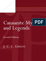 Canaanite Myths and Legends