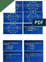 """Cartões - O Jogo """"À Volta da Europa"""""""