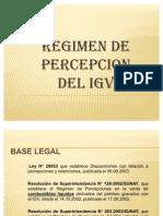 Diapositiva de Regimen de Percepcion Del Igv