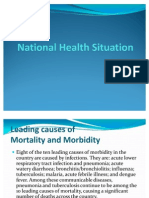 National Health Situation Ppt