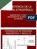 La Exist en CIA de La Presion Atmosferica(2)