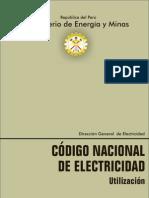 CNE Codigo Nacional de Electricidad