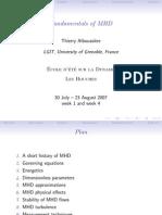 MHD Fundamentals