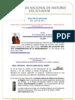 BOLETÍN DE NOTICIAS  Nº6 - ANH