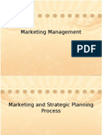 12 MM - Marketing and Strategic Planning Process