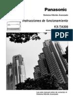 Instrucciones de Funcionamiento KX-TA308 KX-TA616