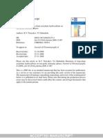 Acetylenic Chrom Manuscript