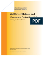 1. Wall Street Reform and Consumer Protection Act Summary for Attorneys General