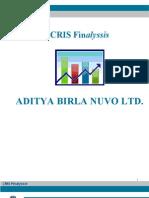 Finalyssis Aditya Birla Nuvo