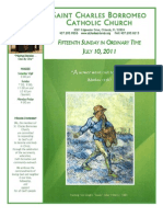 July 10, 2011 Bulletin