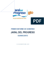 1er Informe de Gobierno (2010) Jaral del Progreso, Gto.