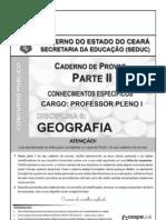 Prova de acesso à profissão docente - Geografia