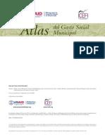 Atlas del gasto social municipal