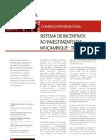 Sistema de Incentivos Ao Investimento Em Mocambique1