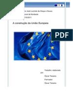 A construção da União Europeia