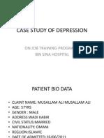 Case Presentation of Depression | Major Depressive ...
