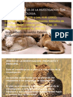 Principios básicos de investigación con grupós en psicología.