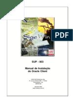 SUP 003 ManualDeInstalacaoDoOracleClient