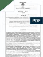 Resolucion 1817 de 2011 - Frech - Julio de 2011