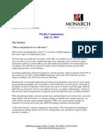 The Monarch Report 7-11-11