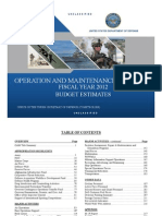 Fy2012 OM Overview