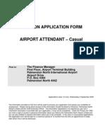PN Airport Carpark Attendant Application